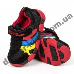 Детские кроссовки BIKU-KIDS черно-красные ( 21-25 )