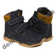 Детские зимние ботинки Clibee H281 синие
