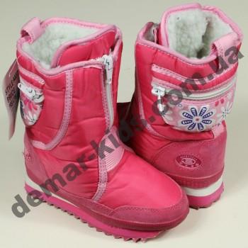 Детские дутики Super Gear розовые