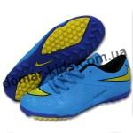 Детские футбольные сороконожки Nike Hypervenom синие