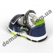 Детские босоножки Jong Golf  A911-1 сине-зеленые
