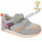 Детские кроссовки Том М 5427C серо-оранжевые средние