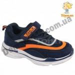 Детские кроссовки Том М 5660K сине-оранжевые средние