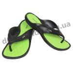 Детские сланцы ( шлепки, вьетнамки ) Wink черно-зеленые