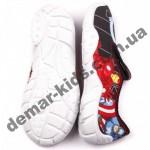 Детские тапочки MB GUMIS 3T1/1a черно-красные спайдермен
