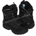 Детские термоботинки SUPER GEAR А 8419 / 9192  (черные)
