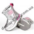 Детские дутики Том М C-T7700-E серебристо-розовые 23-28