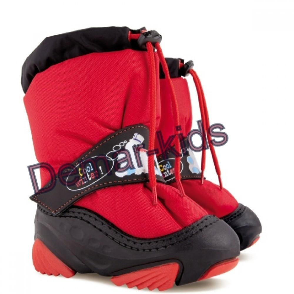 Купить зимние дутики demar SNOWMEN a красные b44524a5b83b5