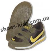 Детские кроссовки NIKE горчично-желтые