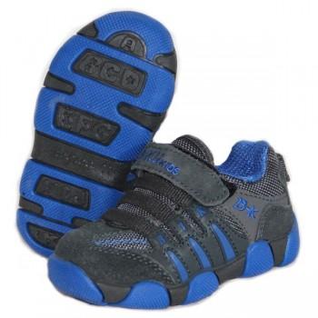 Детские кроссовки BIKU-KIDS серо-синие_01