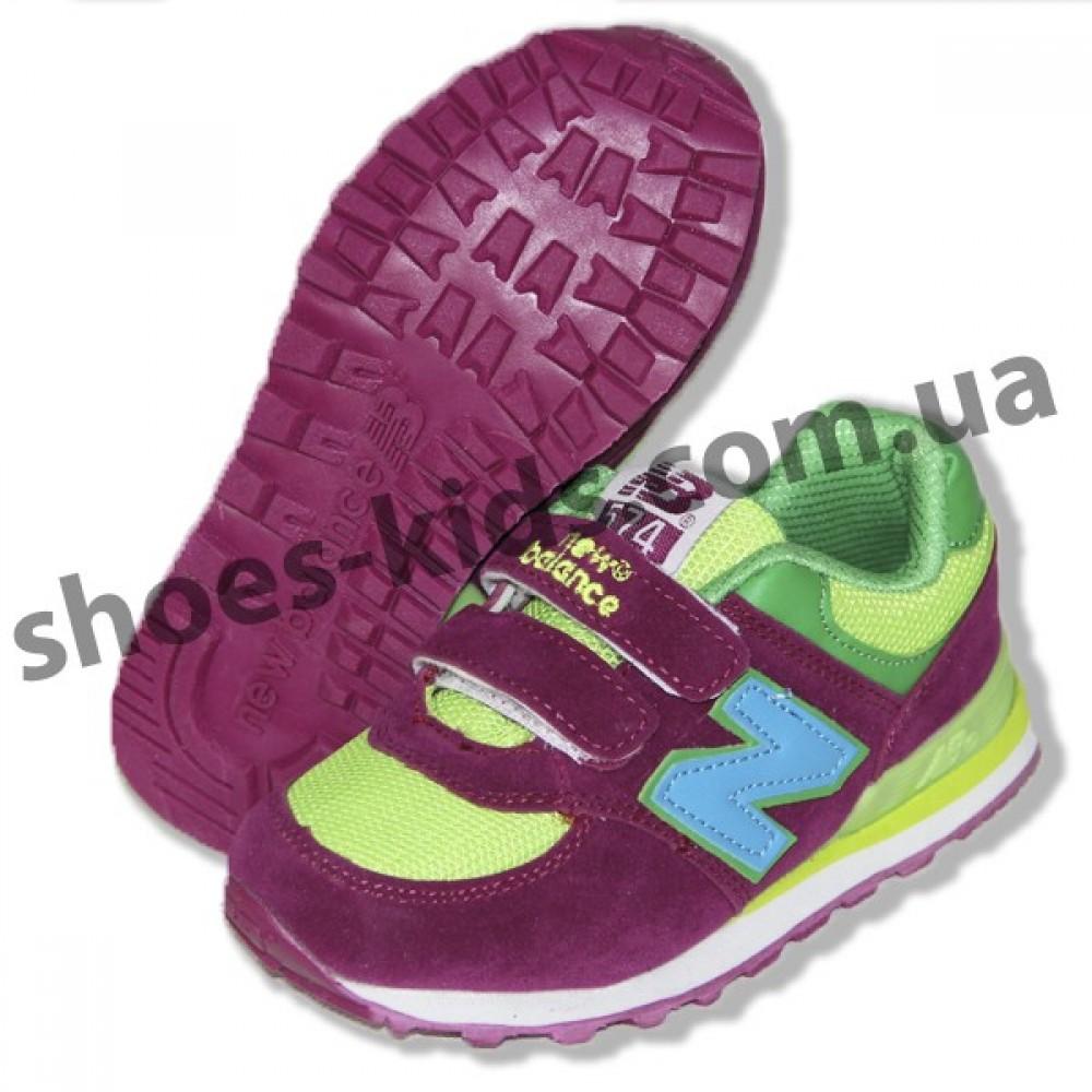 4543982f Купить детские кроссовки New Balance бордово-зеленые в Днепропетровске