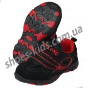 Детские кроссовки ZDL ( ZDILONG ) черно-красные-2