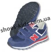 Детские кроссовки New Balance сине-красные