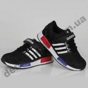 Детские кроссовки Adidas черно-белые
