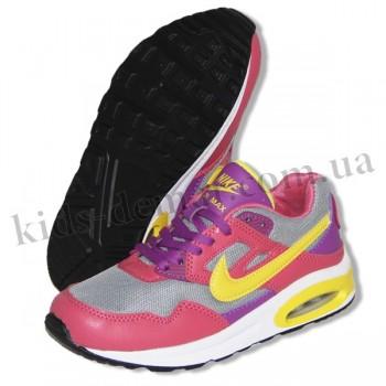 Детские кроссовки Nike Air Max теракотово-желтые
