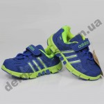Детские кроссовки Adidas сине-салатовые ClimaCool