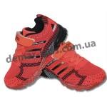Детские кроссовки Adidas Marathon flyknit яркий-терракот