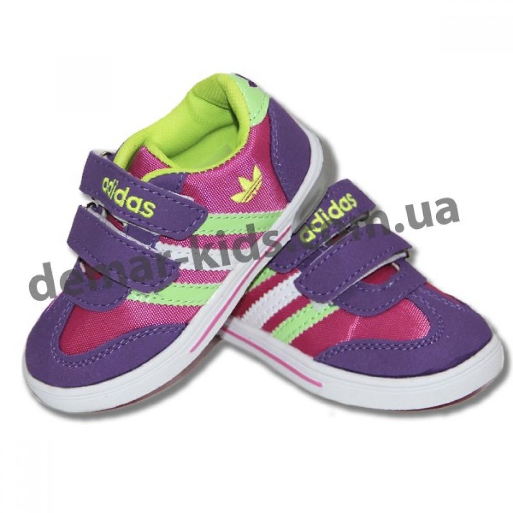 7bd29dfb3 Купить детские кроссовки Adidas со светодиодными мигалками фиолетово ...